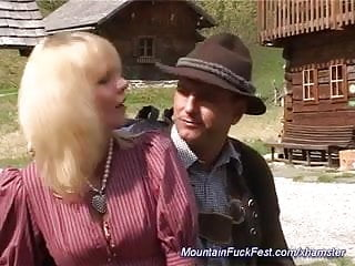 Anal mountain - Mom loves anal fuck in the mountains