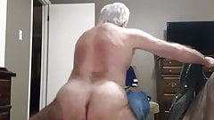 Mature daddy breeding Cub with several loads again