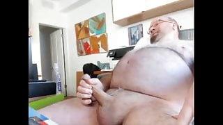 daddy cums twice on cam