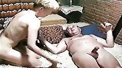Vintage German Mature Dad Initiates Teen (Oldman's Pleasure)
