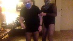 F and J pantyhose fuck buddies
