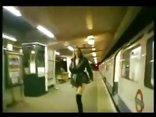 Ebony teen upskirt tubes Girls on tube