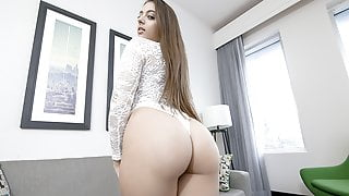 SisLovesMe - Sexy Teen Takes a Big Dick Pounding
