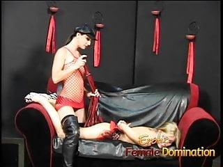 Spank ny boyfriend Dominatrix brandi gets her revenge on her boyfriends secret