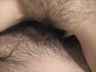 Pussy belly distend Fuck her pussy cum on her belly