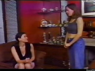 Older lesbian movie Girl spanked by older lesbian