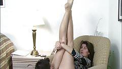 She is emjoying her Ass Licker