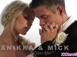 Videos of naked brides Beautiful bride pussyfucked before creampie