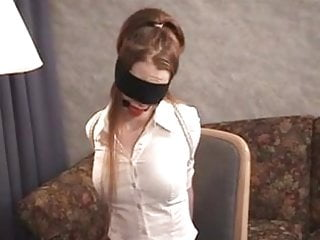 Pantyhose clothing - Girls in office clothes, high heels and pantyhose bondage
