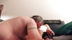 more of me sucking cock