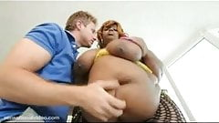 Black BBW Superstar With 70 Inch Ass Gets Destroyed By White