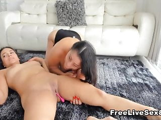Hot pussy licking videos Natural lesbians hot pussy licking