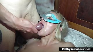 Amateur orgy with two girlfriends and sluts wives