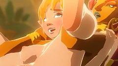 tloz Zelda fuck