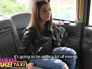 Adult fares - Femalefaketaxi euro babe offers her pussy as fare to busty