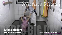 Butcher Mistress Kristin - Slaughter Pig Role Play Sow Babe
