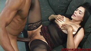 Big Tit Tianna offers her Horny Self to the BBC Mann