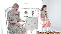 Mormon lezdomina has oral