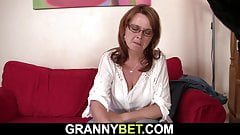 Boozed mature woman is picked up for hot sex