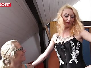 Nothing like doggie sperm Letsdoeit - nothing like a good old mature german threesome
