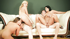 Group Fuck Site - MILF Joins Anal Orgy
