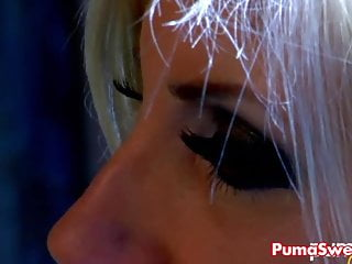 Sweet pussy and big tit - European blonde puma swede licks sadies sweet pussy