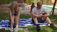 Bailey Brooke Zac Wild - All In A Summers Day Episode 2