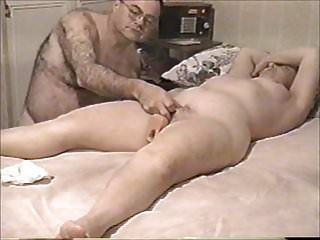 Wife fucks long rubber cock - Using huge rubber cock on my wife slide show