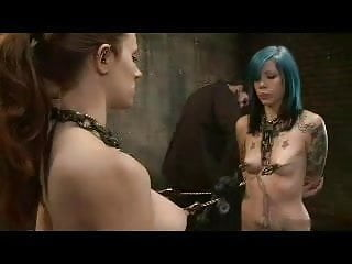 Female same sex Bdsm two at the damn same time kyd