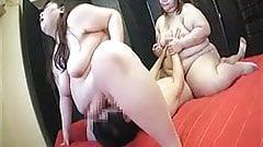2 BIG japanese ladies on top 01