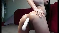 One Deep Asshole ( double ended dildo )