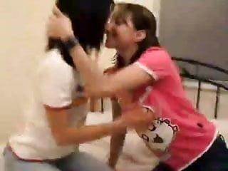 Videos of young teen girls kissing Teen girls kissing