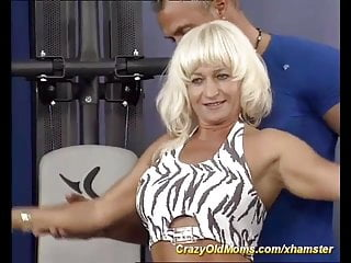 Cock love old woman - Muscle mom loves strong cock