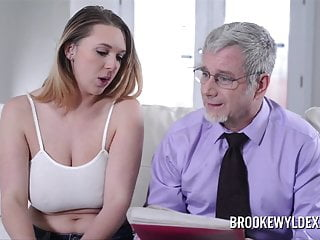 Adult role play spanking - Teen brooke wylde role play with older guy