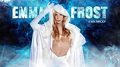 Blonde Aiden Ashley As EMMA FROST Letting You Into Her Pussy