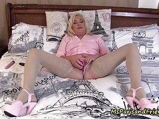 Grandpas cock in my cunt Pussy juice in my panties, cock in my cunt