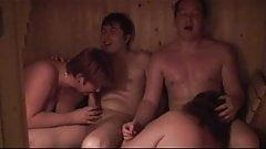 Sauna foursome