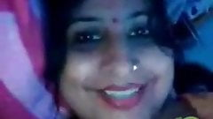 Indian teacher showing boobs on video call