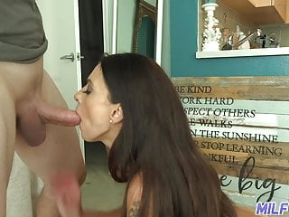 Eva angleina throat fuck Milf trip - hot milf eva long throats fat cock