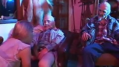 Two old fucks destroy young dope head