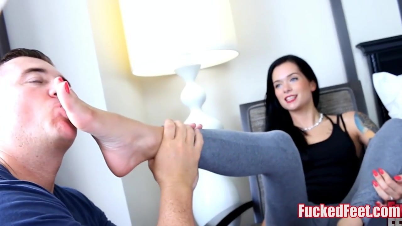 Office Nylon Foot Worship