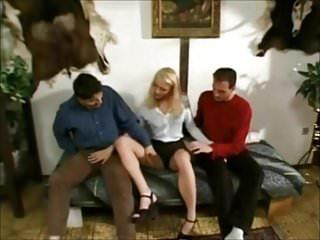 Blonde mmf threesome - Euro scene 133 beautiful blonde mmf