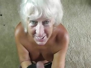 Gloved handjob movies - Gilf leather gloves blowjob