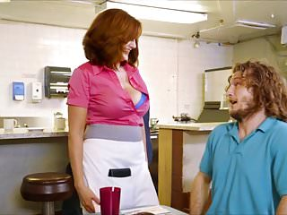 Xxx waitress Andy james busty waitress