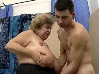 Big fat mature tit video