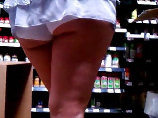 Short shorts ass tube - Asian booty shorts ass out shopping repost