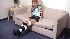 COED ON A COUCH
