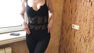 TABOO Son Could not Resist and Fucked StepMom- StepDad Almost Caught