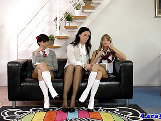 College naughty spank - British milf spanks naughty dyke schoolgirls