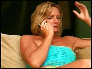 Only blow job blonde Mature blow job